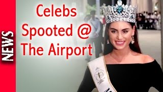 Latest Bollywood News - Bollywood Celebs Spotted At The Airport - Bollywood Gossip 2016