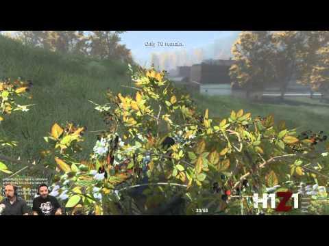 Battle Royale Police Station Shootout  [H1Z1 Official Livestream Highlight]