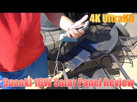 Suaoki 16W Solar Panel Review