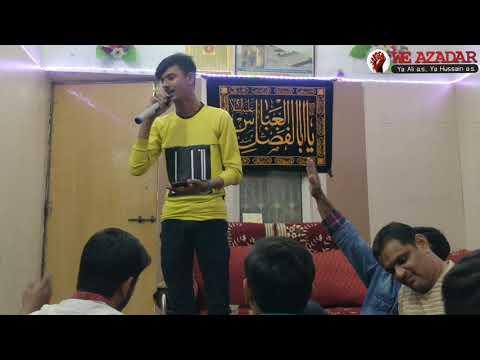 Jashan e bibi zahra sa 1440/2019  Shabe Jumma Program Part 5