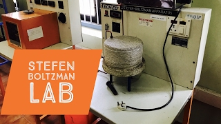 Stefen Boltzman Apparatus lab experiment : Thermal engineering lab experiments