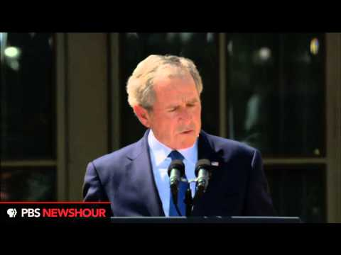 Watch George W. Bush Speak at the Dedication of His Presidential Library