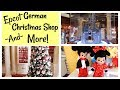 EPCOT GERMANY CHRISTMAS SHOP | DIE WEIHNACHTE ECKE | PRECIOUS MOMENT DOLLS
