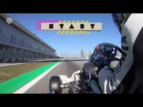 Adria Onboard - Lorenzo Travisanutto RaceBox Show 300119