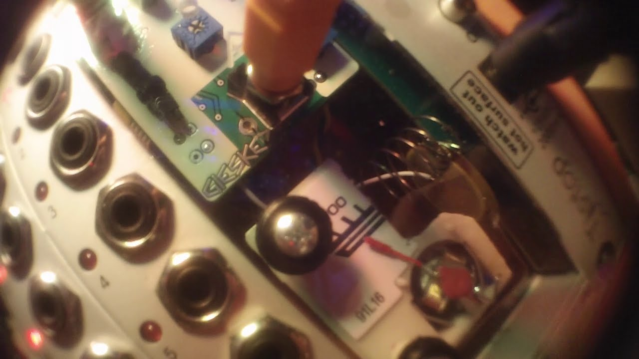 Grayscale Eurorack Panels Mutable Instruments Peaks