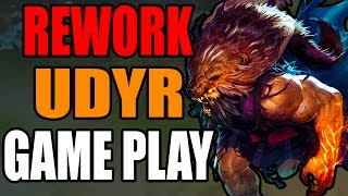 NEW UDYR REWORK FULL GAME PLAY | League of Legends | Patch 7.15 PBE | Kobe lol