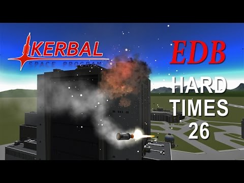 Kerbal Space Program (0.90 Stock Career) - Hard Times 26 - Decisions and Dockings