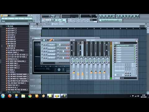 สอนเขียนลูป  fl studio l3y DJ CHECK NCC Remix