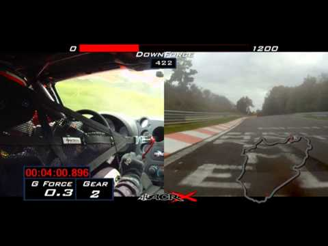 The Viper ACR-X laps the Nürburgring Nordschleife in 7:03.