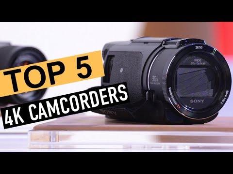 BEST 5 4K camcorders 2018