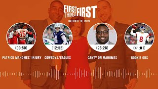First Things First Audio Podcast(10.18.19)Cris Carter, Nick Wright, Jenna Wolfe | FIRST THINGS FIRST