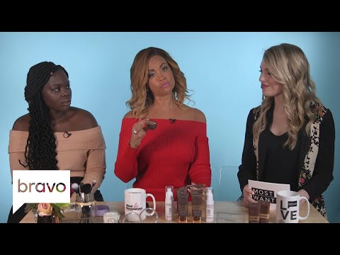 RHOP: Gizelle Bryant's Secret For Making Under Eye Bags Disappear | Bravo