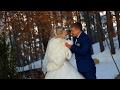 19-11-2016 Артем и Кристина. Свадебный клип. А на улице -34 градусов по Цельсию )) #видеосъемка