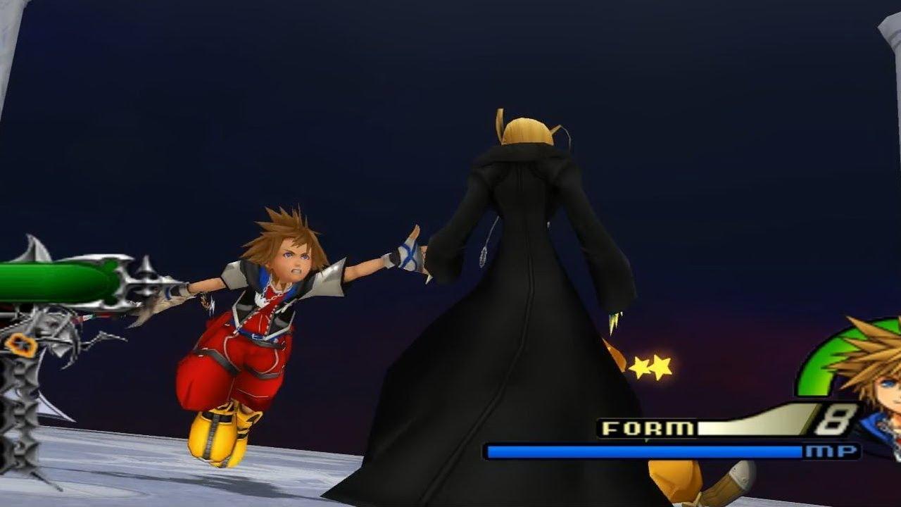 Kingdom Hearts 2 Final Mix Organization XIII Larxene Data 713 1080p Running On PCSX2 130