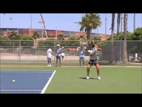 Francesca Schiavone BackHand - regular speed and slo mo Video