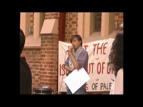 Protest for Gaza June 6th 2010 Perth Australia Part 1