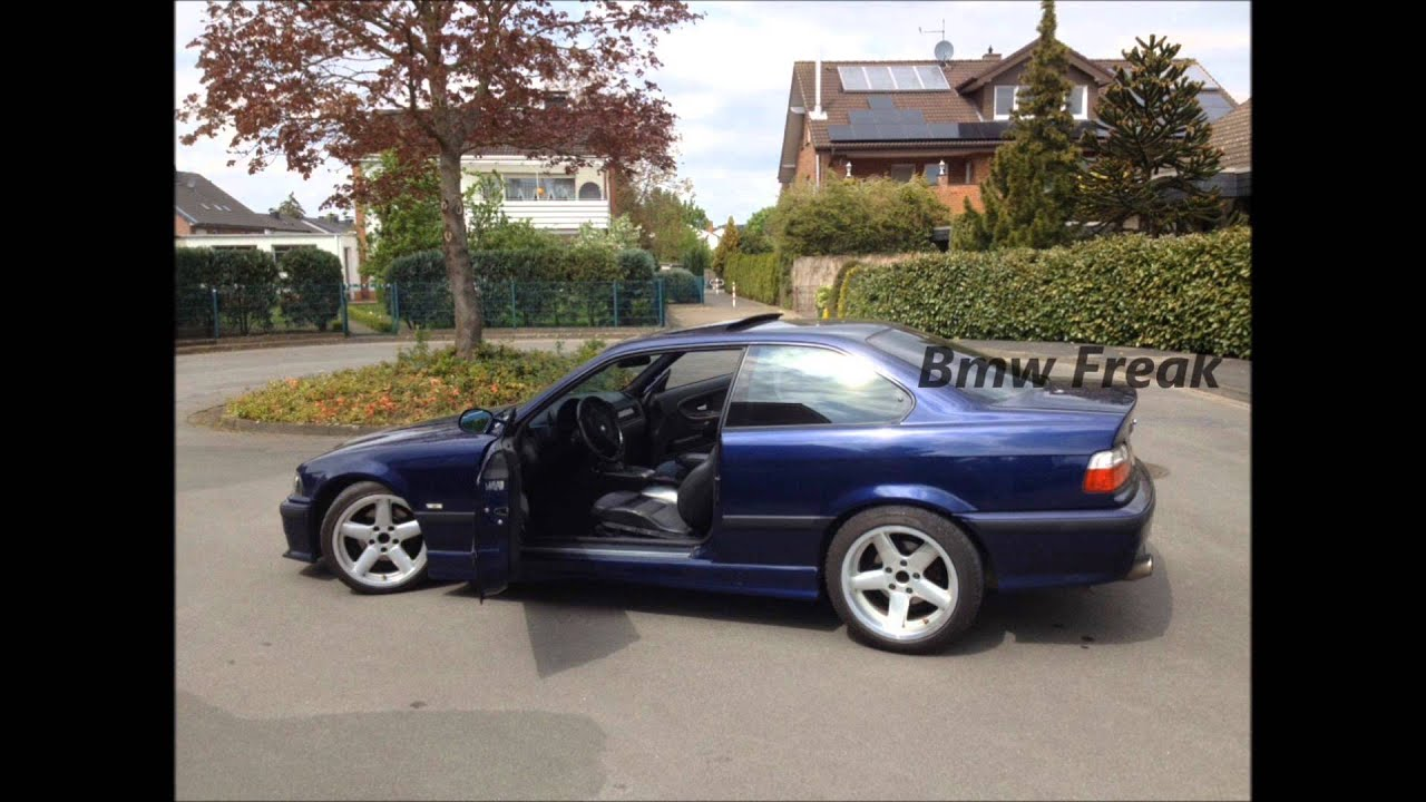 Bmw E36 328i Coup 233 M Packet M3 Pics Full Hd Blue 193ps