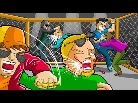 GTA V – PORRADARIA NA ARENA SECRETA DO UFC NO GTA 5 ONLINE