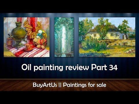 Oil painting review Part 34    BuyArtUs
