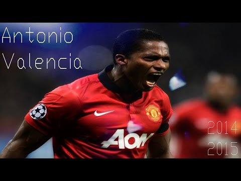 Antonio Valencia ► Skills, Runs, Assist & Goals - Manchester United 2009 - 2015 | HD