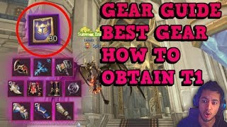 GEAR GUIDE - Best Gear - World of Kings