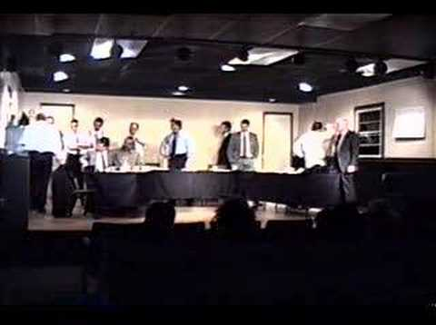 12 Angry Men: Theatre Production - A Scene