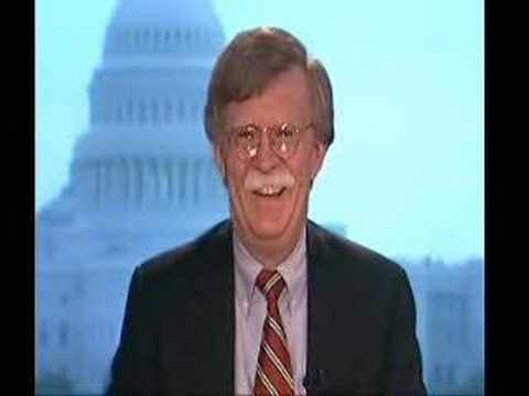 John Bolton gets in discomfort on Newsnight