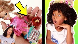 Amazing DIY Craft For Barbie and Simple Hacks For Your Barbie