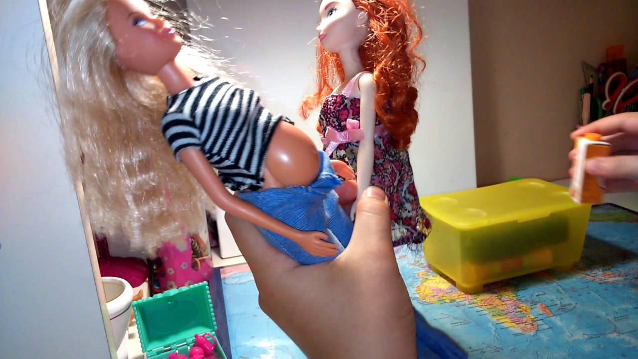 Как беременные рожают куклы барби 47