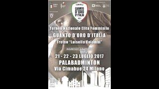 Guanto D'Oro Femminile Trofeo L. Colombi 2017 - QUARTI