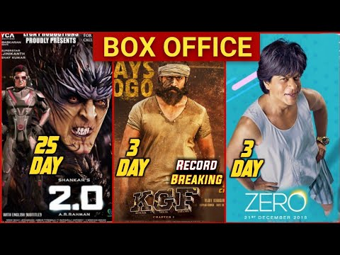 Zero vs KGF Box Office Collection Day 3 | KGF Box Office Collection | Zero Box Office Collection