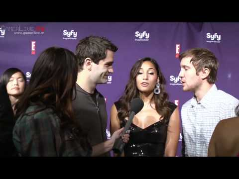 Actors Sam Witwer, Meaghan Rath and Sam Huntington Talk Syfy's Being Human