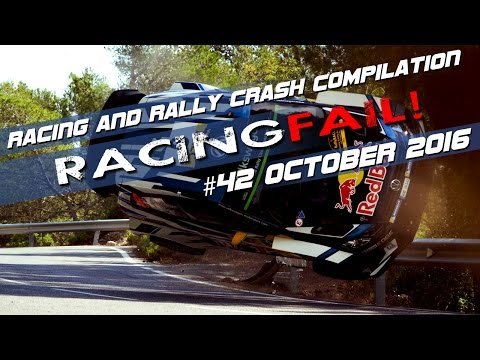 Racing and Rally Crash Compilation Week 42 October 2016