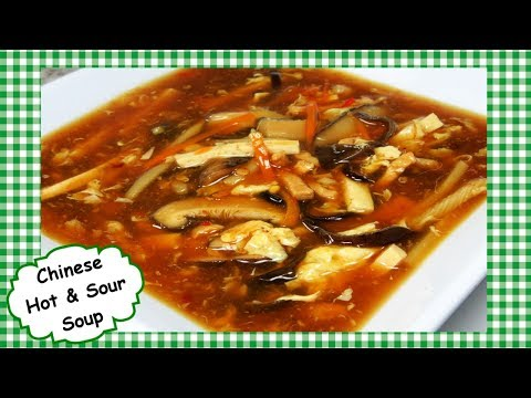 The Best Chinese Hot and Sour Soup ~ Classic Chinese Restaurant Hot Sour Soup Recipe