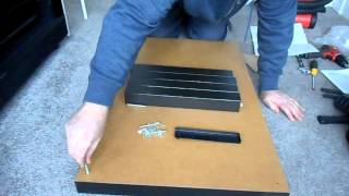 Flat Pack Furniture Assembly (ikea Lack Coffee Table)