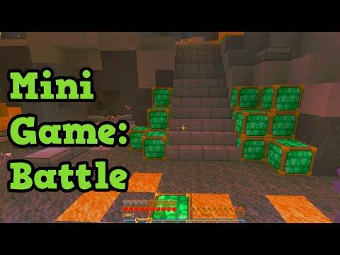 Minecraft Xbox 360 Mini Games LIVE - BATTLE W/ Subs