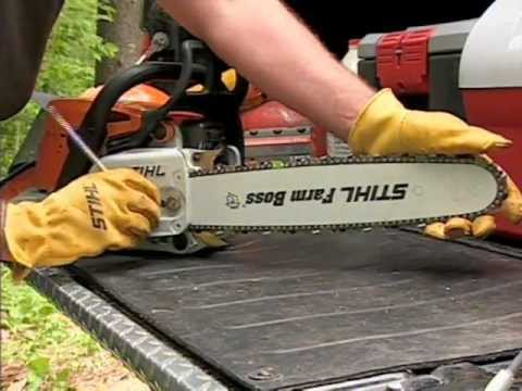STIHL - Chain Saw Safety, Operation & Maintenance