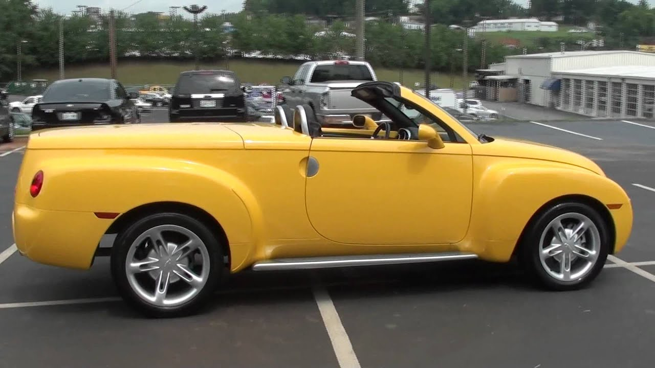For sale 2004 chevrolet ssr 1 owner only 8k miles fun stk p5714 youtube