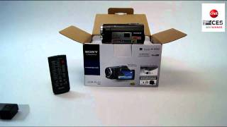 Sony Handycam HDRPJ10 Unboxing/Tutorial & First Look