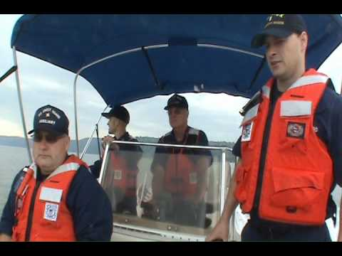 US Coast Guard Auxiliary promotes safe boating Video