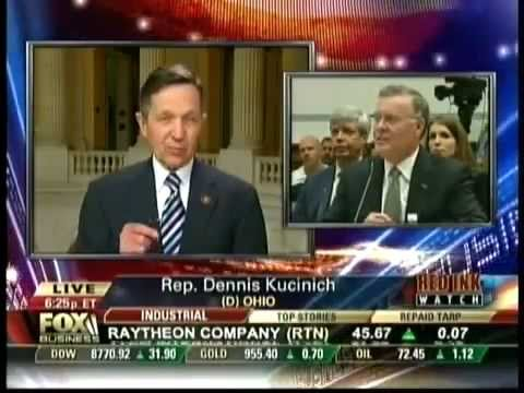 Dennis Kucinich and CEO Bank of America