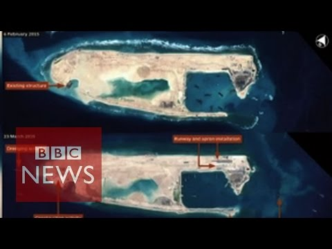 China's new island in the South China Sea - BBC News