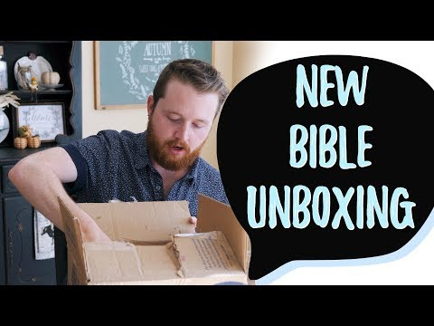 NEW The Swindoll Study Bible Unboxing & First Impressions
