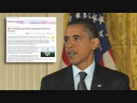 Obama internet control- cyber security command