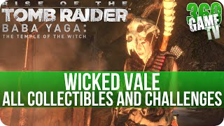 Rise of the Tomb Raider - Wicked Vale - All Collectibles and Challenges Locations - Baba Yaga DLC