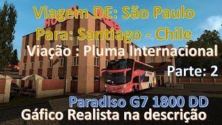 Viagem de São Paulo para Santiago no Chile. Parte 2 ETS 2