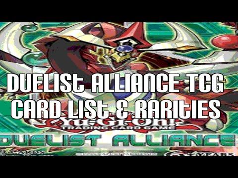 Yugioh Duelist Alliance Yugioh Duelist Alliance Tcg