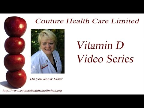 Dr. Lisa Goins NP, Couture Health Care Limited - Vitamin D Nursing Homes