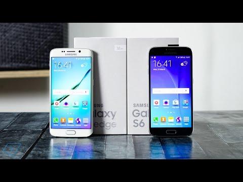 ▶ Samsung Galaxy S6 and S6 Edge Unboxing und Einrichtung!