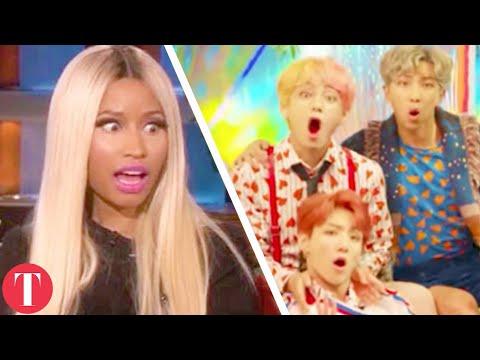 Nicki Minaj Collabs With BTS As Last Desperate Attempt To Boost Billboard Ratings